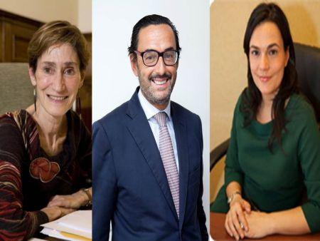Victoria Ortega, Enrique Sanz y Carmen Pérez