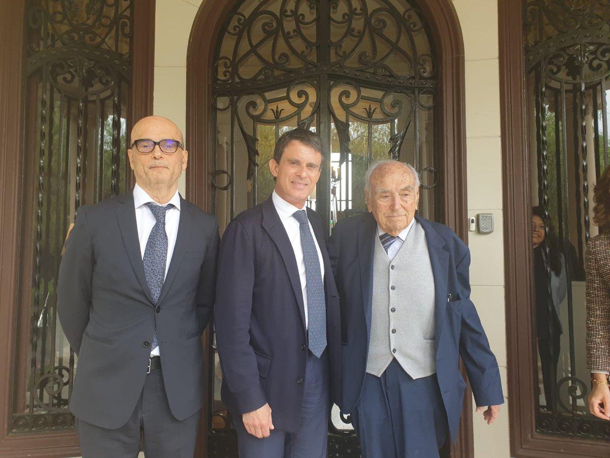 Manuel Valls analiza el papel de Barcelona en relación a Cataluña, España y Europa