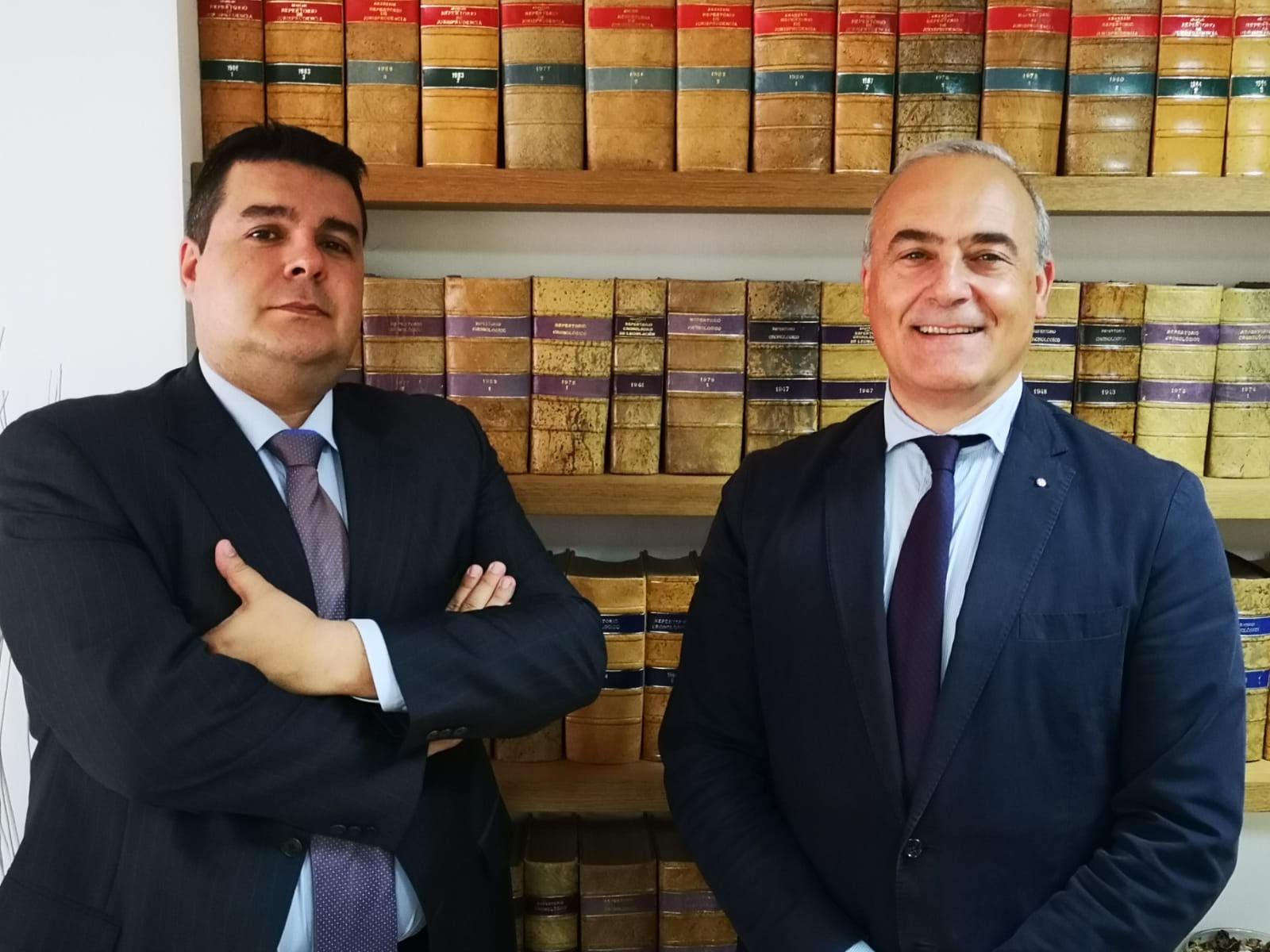 D. Edurado Rodíguez Brujón y D. Jorge Martínez