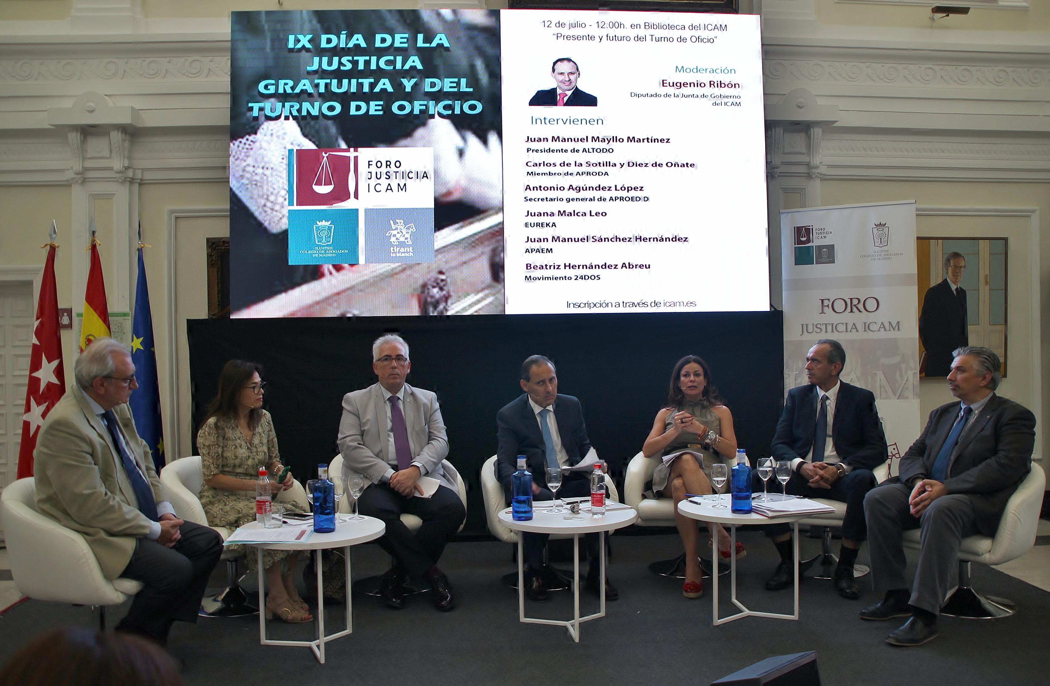 """Eugenio Ribón: """"Los 365 días del año habrá un abogado del Turno de Oficio para el ciudadano que lo necesite"""""""