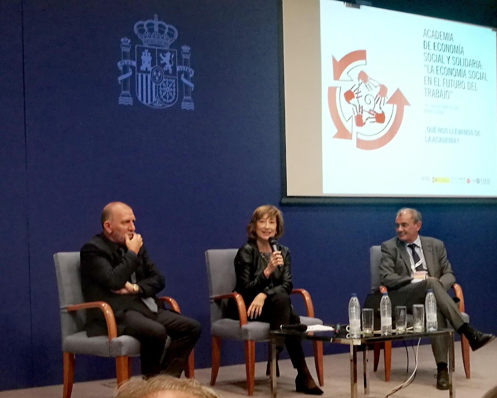 La OIT, el Ministerio de Trabajo de España y CEPES refuerzan el papel central de la Economía Social en el futuro del trabajo