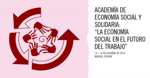 Madrid albergará el lunes 14 la inauguración de la 'XI Edición de la Academia de Economía Social y Solidaria: la economía social en el futuro' de la OIT