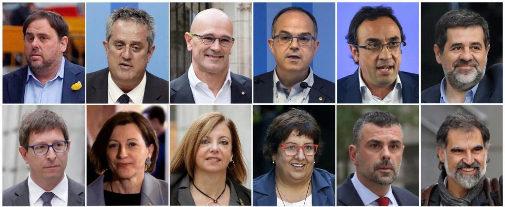 El Supremo condena a Junqueras a 13 años de cárcel y a 9 años a Cuixart y Sànchez por el procés