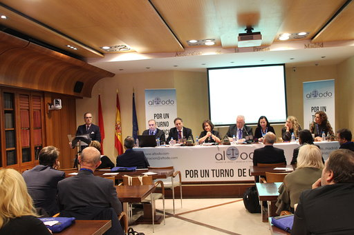 El ICAM e ICAMALAGA reivindican institucionalmente la labor del turno de oficio en el #ICongresoNacionalAltodo organizado por @MadridAltodo