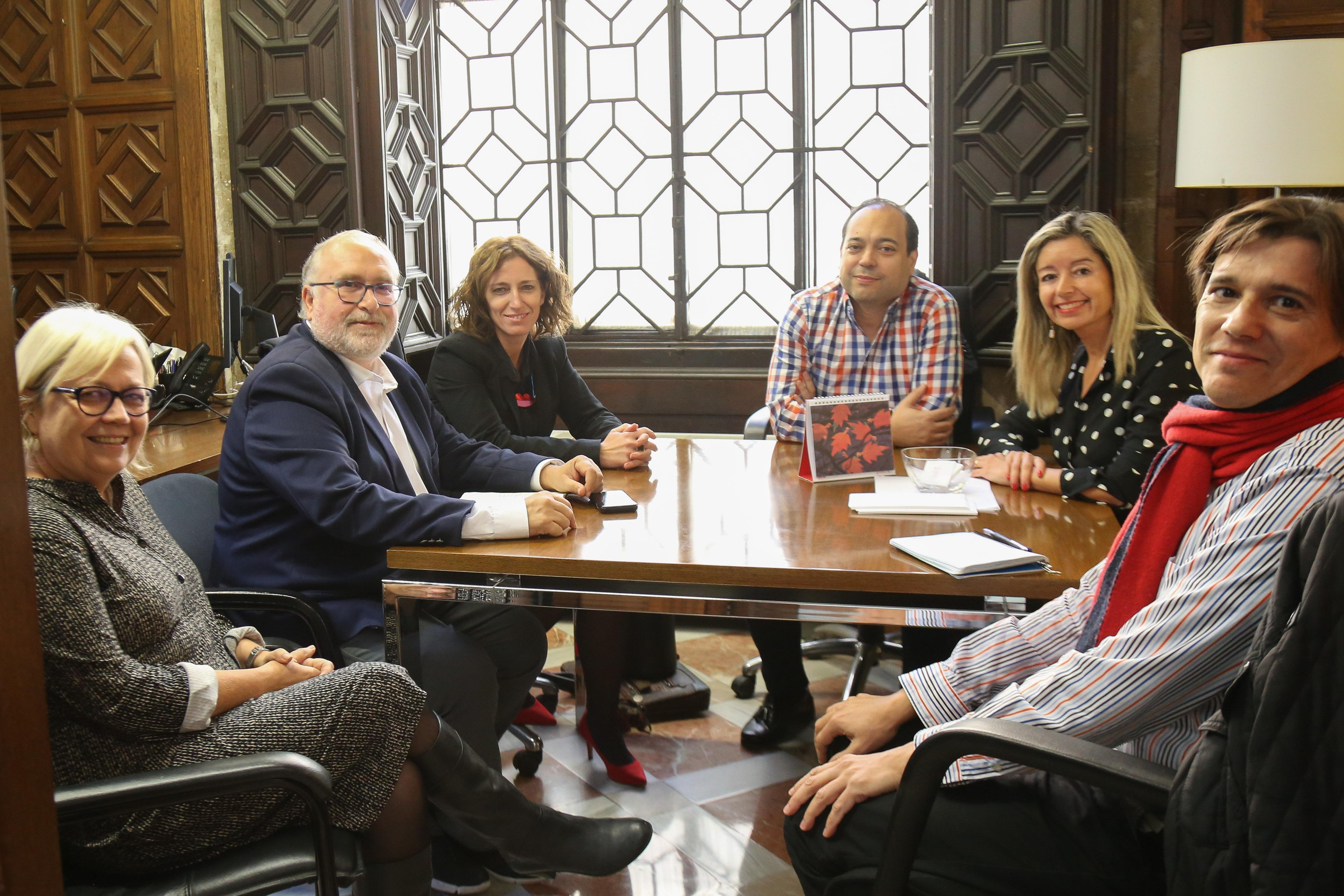 COSITAL Valencia se reúne con el director de la Administración Local para acordar mejoras en la reserva de puestos a los habilitados nacionales