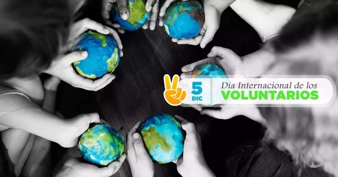 La figura del Voluntario en su Día Internacional #CompartirConocimiento