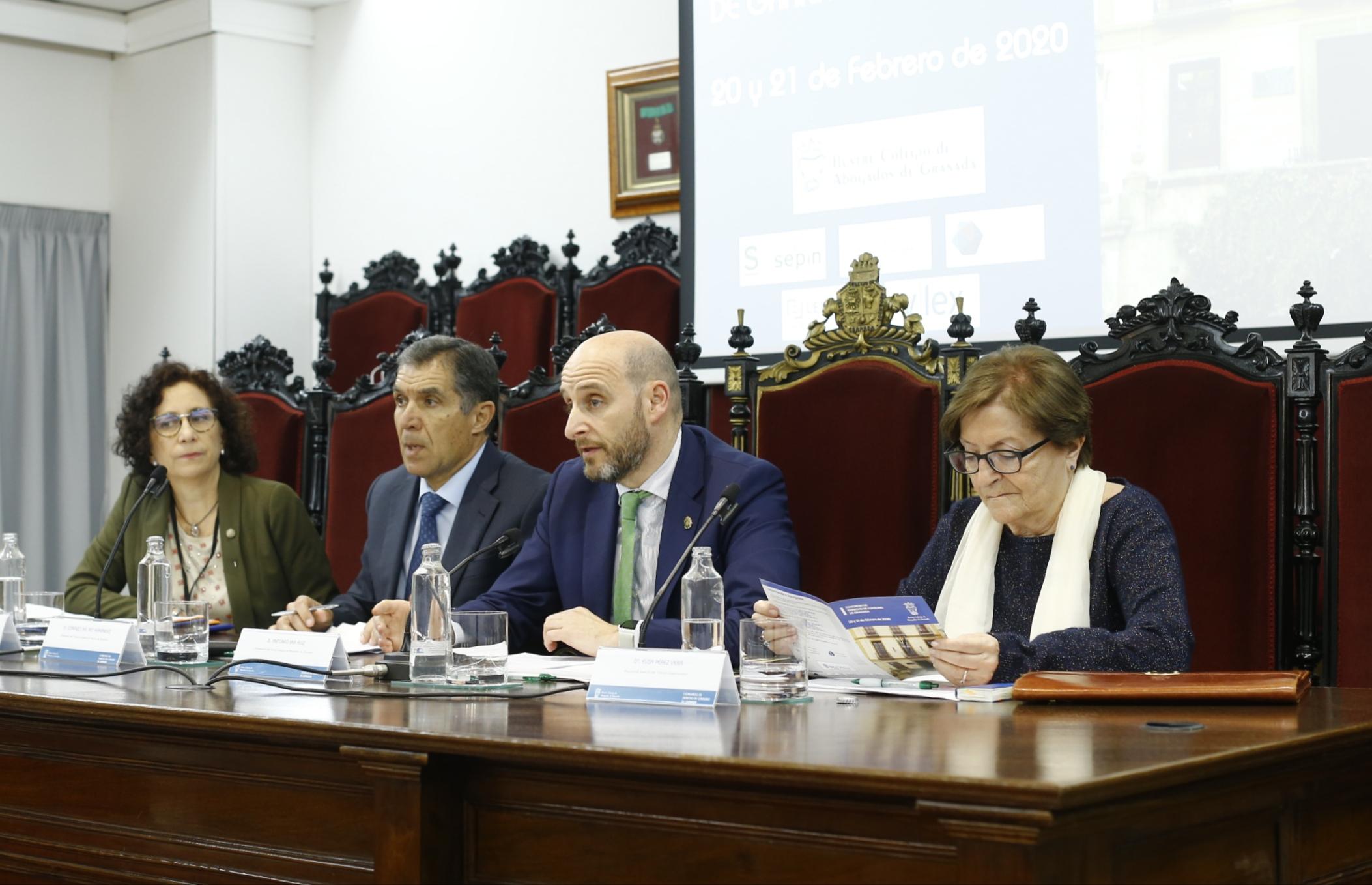 80 profesionales jurídicos se dan cita en el I Congreso de Derecho de Consumo de Granada