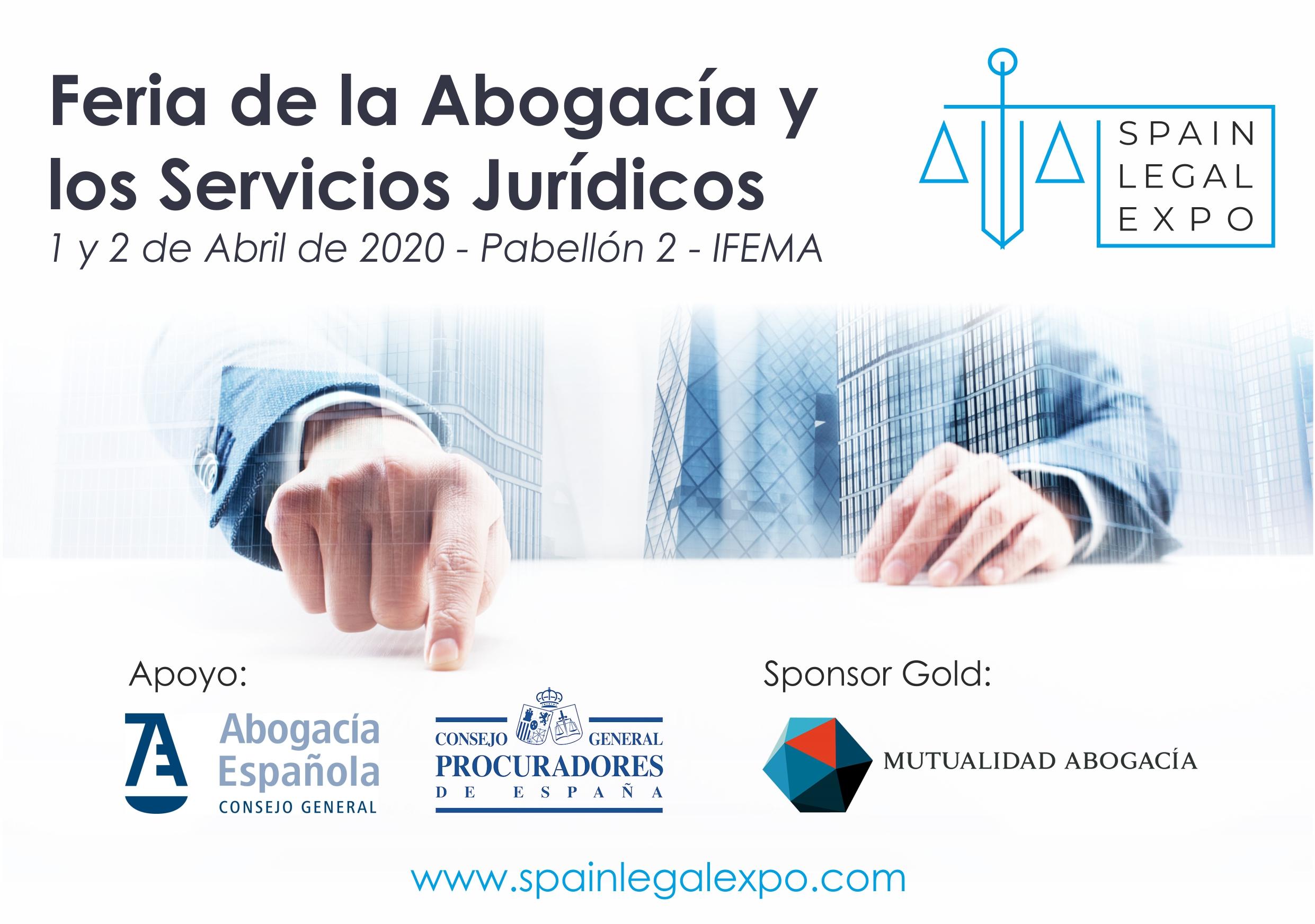 Victoria Ortega, Enrique López y Pedro J. Carrillo presentan la Spain Legal Expo – Feria de la Abogacía y Sector Legal