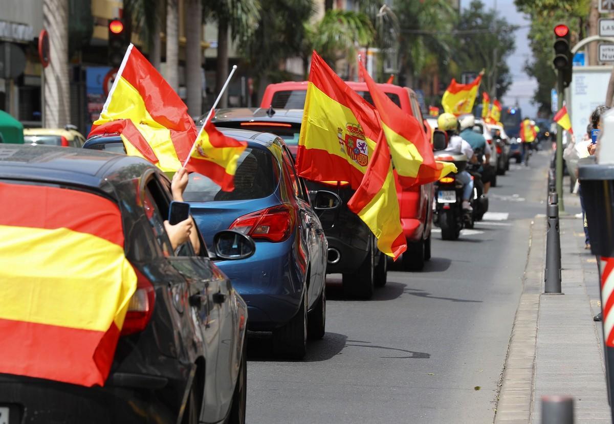 manifestacion caravana