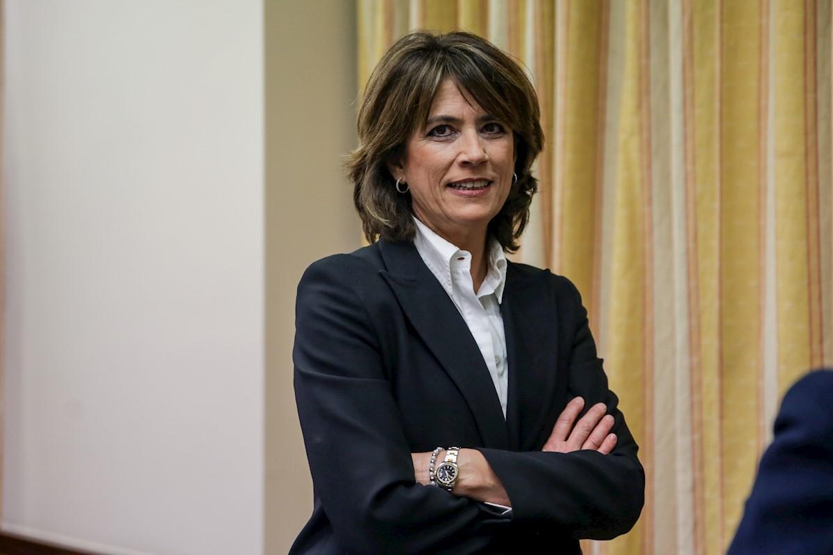 Dolores Delgado se reúne con la nueva fiscal general europea, Laura Kövesi
