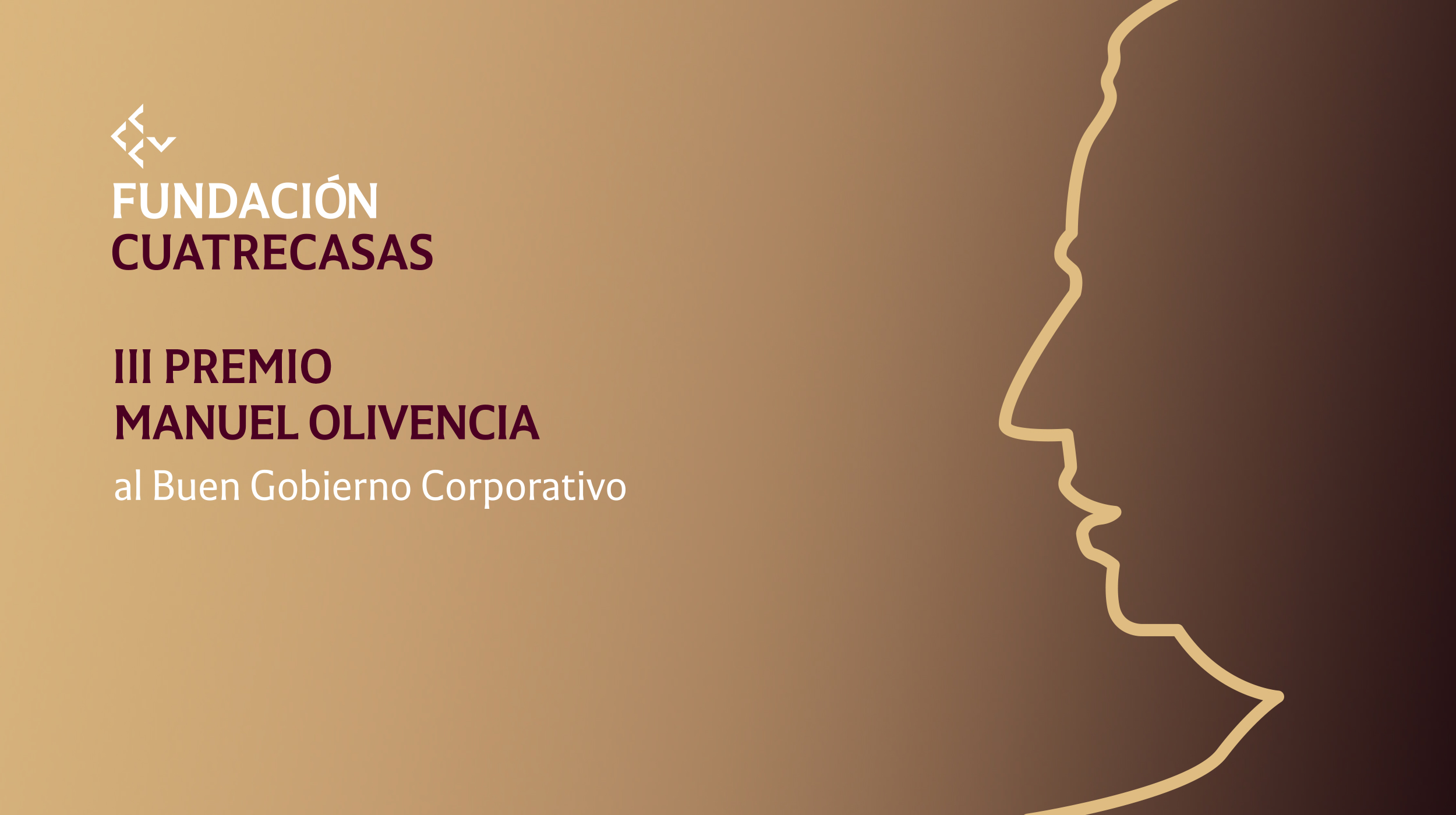 La III edición del Premio Manuel Olivencia de la Fundación Cuatrecasas reconocerá el buen gobierno en la gestión de la Covid-19