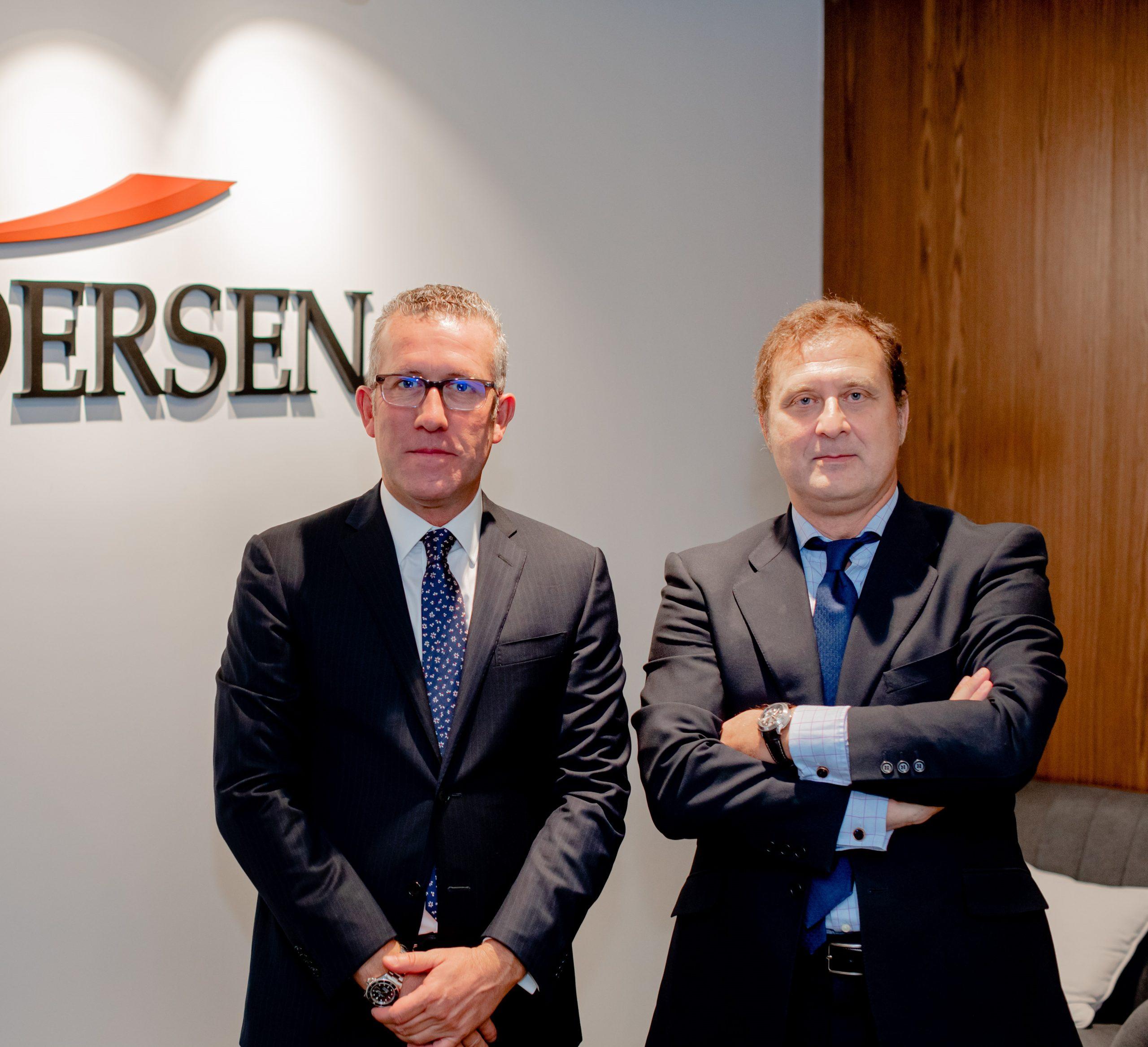 Andersen nombra a José Vicente Morote e Íñigo Rodríguez-Sastre Socios Codirectores de la firma