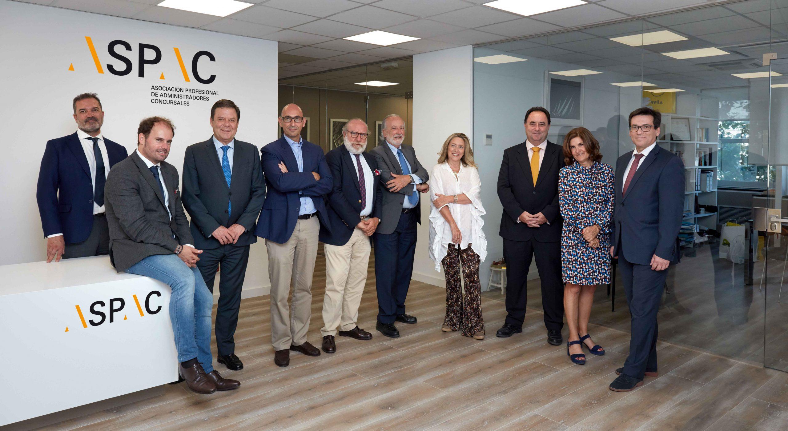 ASPAC reivindica una remuneración justa para los Administradores Concursales