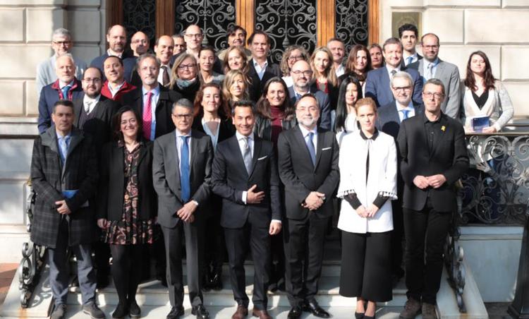 Momento de presentación de la Carta, año 2019. Foto: ICAB