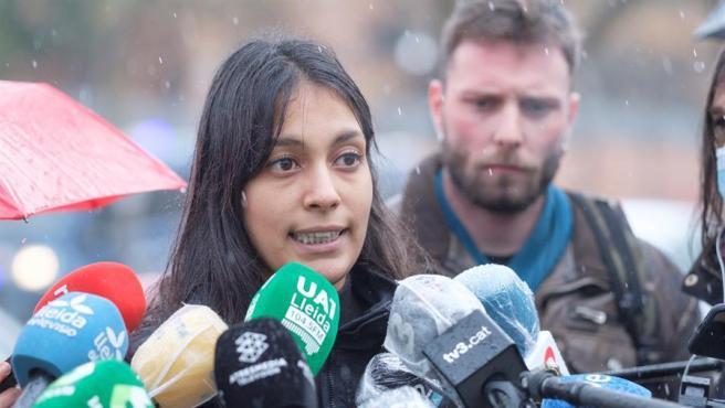 La abogada del rapero Pablo Hasel, Alejandra Matamoros. Foto: EFE