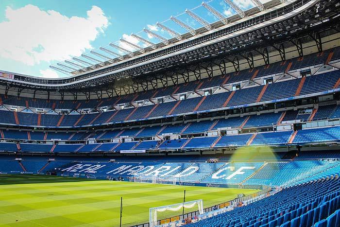 Estadio Santiago Bernabéu. Foto: Real Madrid