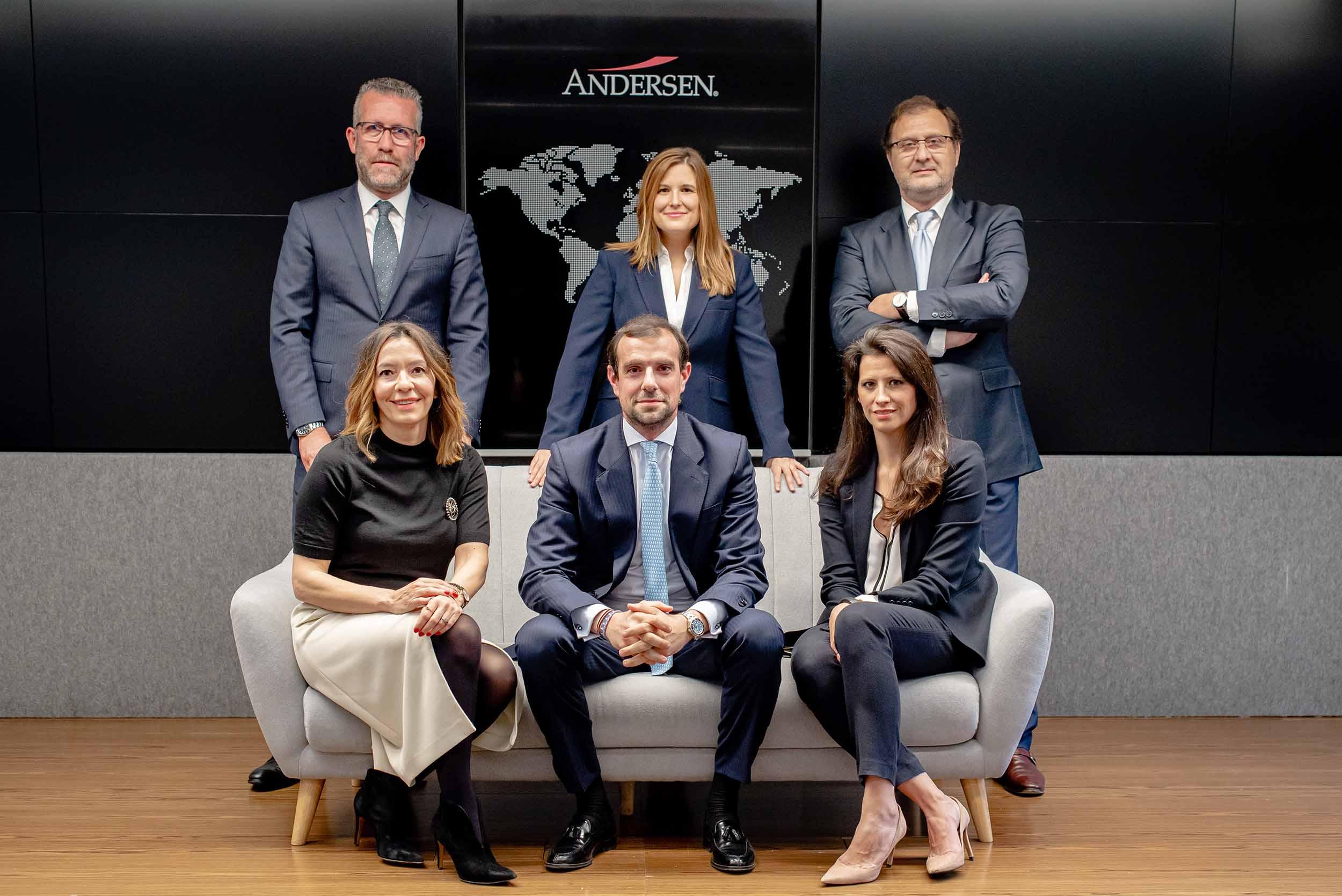 Andersen promociona a cuatro nuevos socios en España