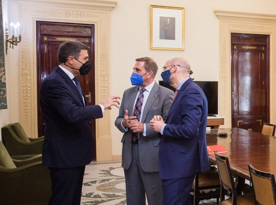 Granada pide ayuda en el impulso de la unificación de las sedes judiciales